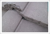 Cracked Roof Tiling