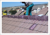 Fabric Sealing & Waterproofing on Roof