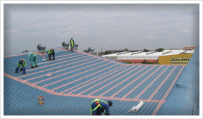 Water Proofing Industrial Roofs