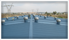 Painting Industrial Roofs