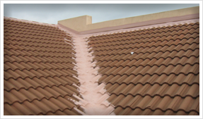 Tiled Roof Waterproofing Seams