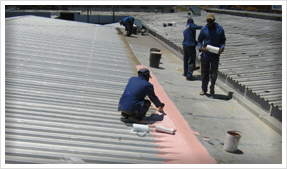 Zinc Roof Waterproofing
